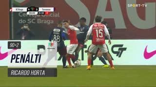 SC Braga, Penálti, Ricardo Horta aos 90'+2'