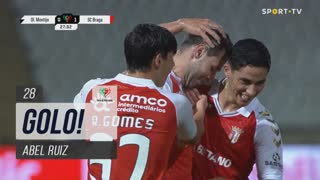GOLO! SC Braga, Abel Ruiz aos 28', Olímpico do Montijo 0-1 SC Braga
