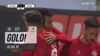 GOLO! Trofense, Alan Jr. aos 50', Trofense 1-1 SC Braga