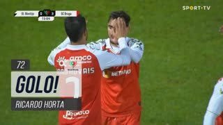 GOLO! SC Braga, Ricardo Horta aos 72', Olímpico do Montijo 0-3 SC Braga