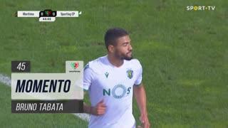 Sporting CP, Jogada, Bruno Tabata aos 45'