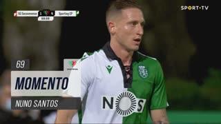 Sporting CP, Jogada, Nuno Santos aos 69'