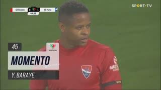 Gil Vicente FC, Jogada, Y. Baraye aos 45'