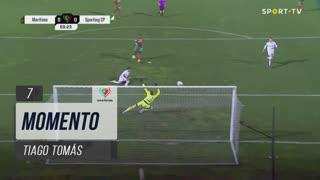 Sporting CP, Jogada, Tiago Tomás aos 7'