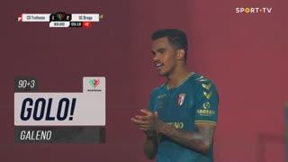 GOLO! SC Braga, Galeno aos 90'+3', Trofense 1-2 SC Braga