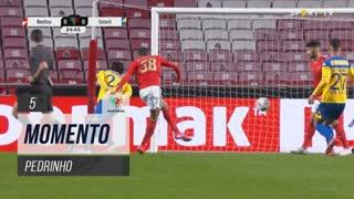 SL Benfica, Jogada, Pedrinho aos 5'