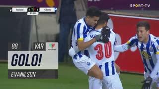 GOLO! FC Porto, Evanilson aos 88', CD Nacional 2-2 FC Porto