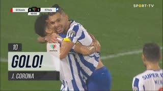 GOLO! FC Porto, J. Corona aos 10', Gil Vicente FC 0-1 FC Porto