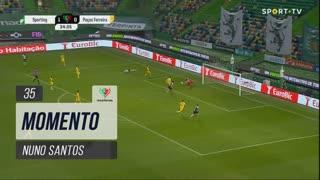 Sporting CP, Jogada, Nuno Santos aos 35'
