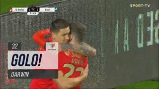 GOLO! SL Benfica, Darwin aos 32', SL Benfica 1-0 Belenenses SAD