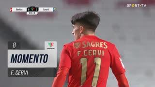 SL Benfica, Jogada, F. Cervi aos 8'