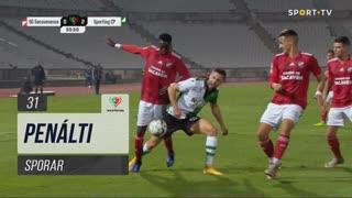 Sporting CP, Penálti, Sporar aos 31'