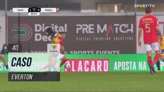 SL Benfica, Caso, Everton aos 40'