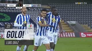 GOLO! FC Porto, Luis Díaz aos 22', CD Nacional 0-1 FC Porto