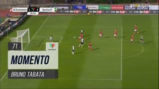 Sporting CP, Jogada, Bruno Tabata aos 71'