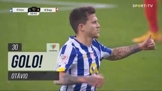 GOLO! FC Porto, Otávio aos 30', FC Porto 1-3 SC Braga