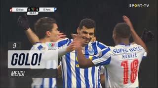 GOLO! FC Porto, Mehdi aos 9', SC Braga 0-1 FC Porto