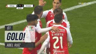 GOLO! SC Braga, Abel Ruiz aos 61', SC Braga 4-0 Torreense