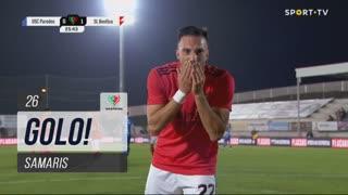 GOLO! SL Benfica, Samaris aos 26', Paredes 0-1 SL Benfica