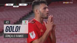 GOLO! SL Benfica, Gonçalo Ramos aos 43', SL Benfica 1-0 Estoril Praia