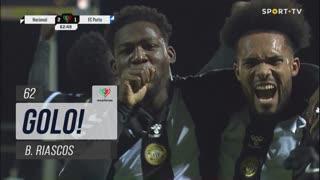 GOLO! CD Nacional, B. Riascos aos 62', CD Nacional 2-1 FC Porto