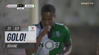GOLO! Sporting CP, Jovane aos 31', Sacavenense 0-3 Sporting CP