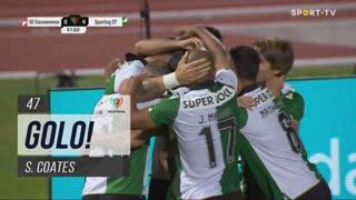 GOLO! Sporting CP, S. Coates aos 47', Sacavenense 0-4 Sporting CP