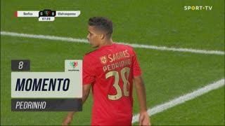 SL Benfica, Jogada, Pedrinho aos 8'