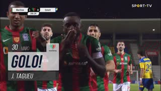 GOLO! Marítimo M., J.Tagueu aos 30', Marítimo M. 1-0 Estoril Praia