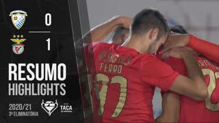 Taça de Portugal (3ª Eliminatória): Resumo Paredes 0-1 SL Benfica