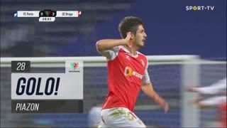 GOLO! SC Braga, Piazon aos 28', FC Porto 0-3 SC Braga