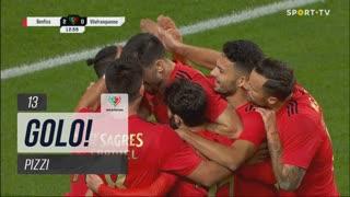 GOLO! SL Benfica, Pizzi aos 13', SL Benfica 2-0 Vilafranquense