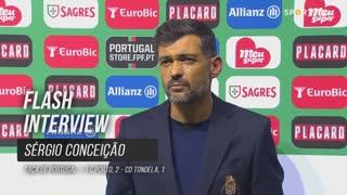 """Sérgio Conceição: """"Estamos em todas as frentes"""""""