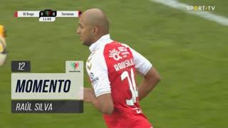 SC Braga, Jogada, Raúl Silva aos 12'