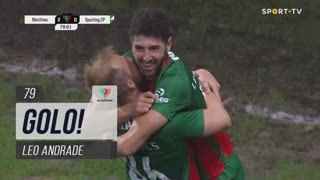 GOLO! Marítimo M., Leo Andrade aos 79', Marítimo M. 2-0 Sporting CP