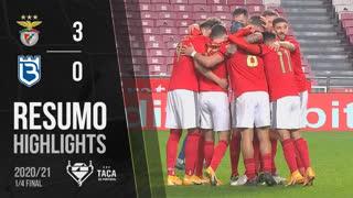 Taça Placard (Quartos de Final): Resumo SL Benfica 3-0 Belenenses SAD