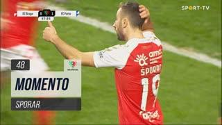 SC Braga, Jogada, Sporar aos 48'