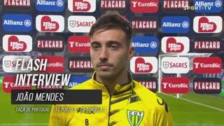 """João Mendes: """"A segunda parte foi toda nossa"""""""
