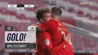 GOLO! SL Benfica, Waldschmidt aos 90', SL Benfica 2-0 Estoril Praia