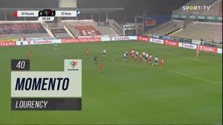 Gil Vicente FC, Jogada, Lourency aos 40'