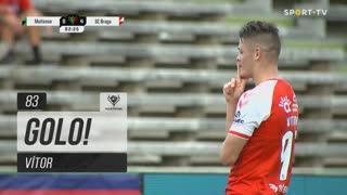 GOLO! SC Braga, Vítor aos 83', Moitense 0-4 SC Braga