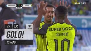 GOLO! Sporting CP, Jovane aos 77', CF Os Belenenses 0-3 Sporting CP