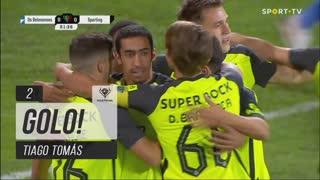 GOLO! Sporting CP, Tiago Tomás aos 2', CF Os Belenenses 0-1 Sporting CP