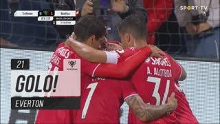 GOLO! SL Benfica, Everton aos 21', CD Trofense 0-1 SL Benfica