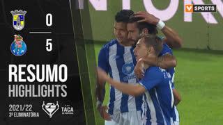 Taça Placard (3ª Eliminatória): Resumo Sintrense 0-5 FC Porto