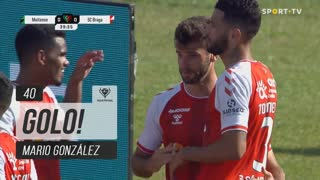 GOLO! SC Braga, Mario González aos 40', Moitense 0-1 SC Braga